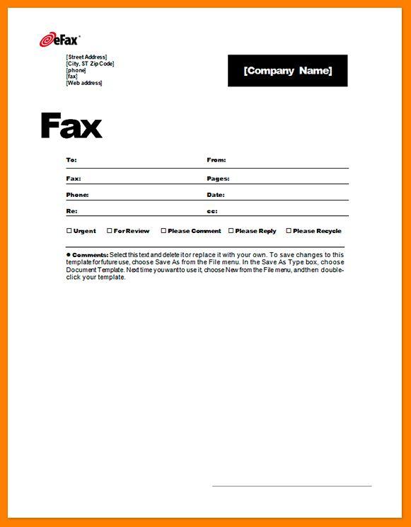 8+ fax cover sheets   cna resumed