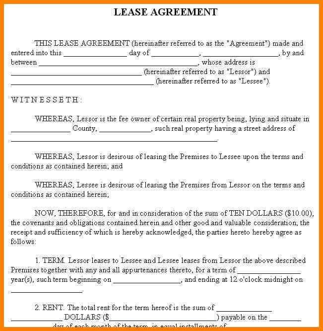 11+ house rental agreements templates | barber resume