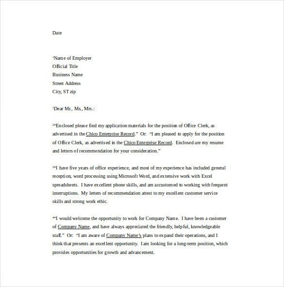 Download Word Cover Letter Templates | Haadyaooverbayresort.com