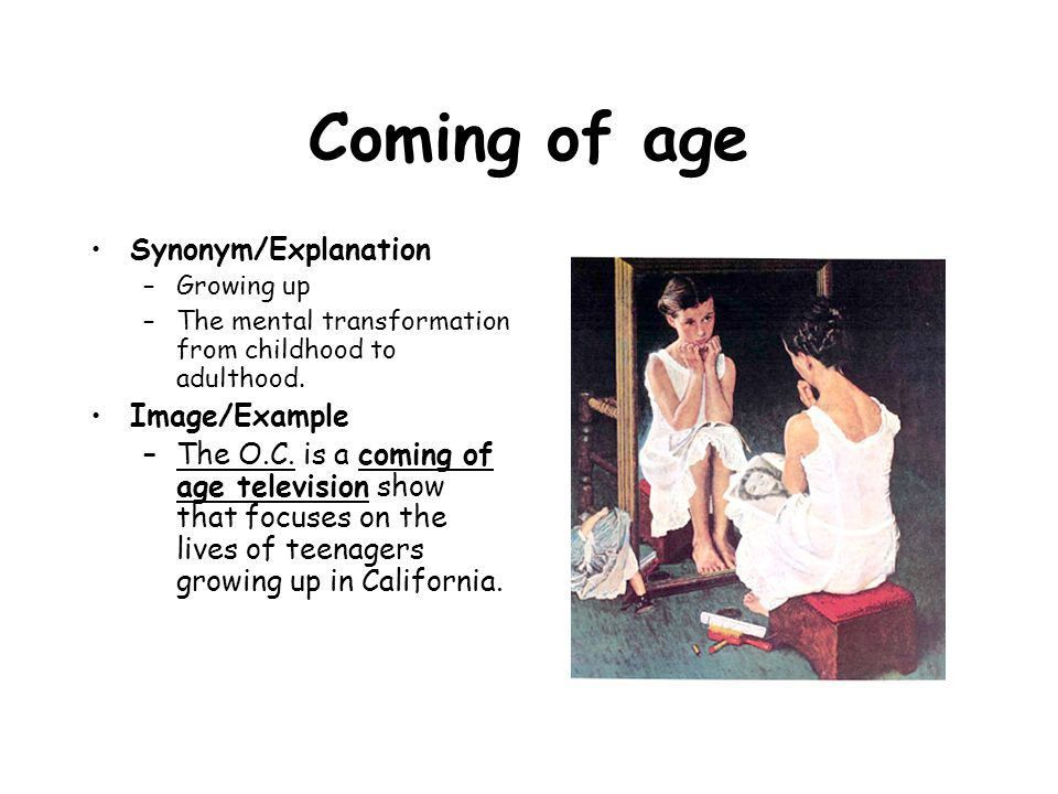 Coming of Age Literature - ppt video online download
