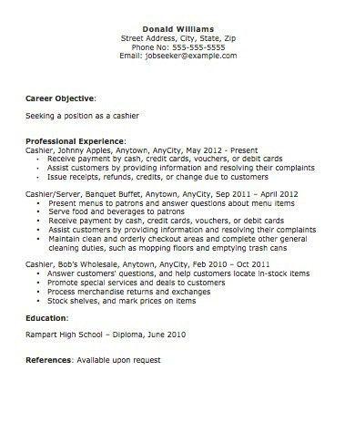 Cashier Skills and Abilities Cashier Resume | RecentResumes.com