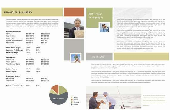 Report Design Template | Free Business Template