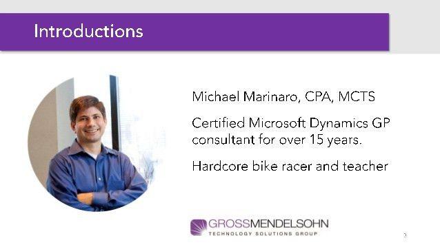Microsoft Dynamics GP User Group