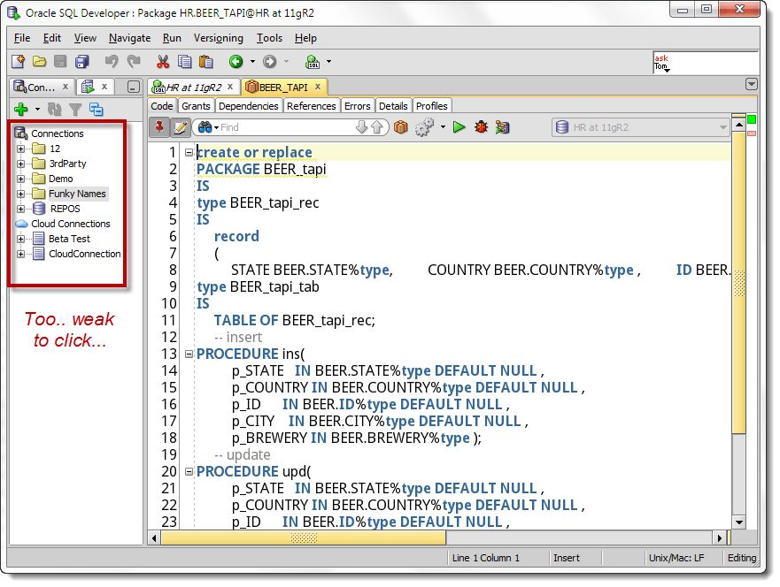 Quick Outline: Navigating Your PL/SQL Packages in Oracle SQL ...