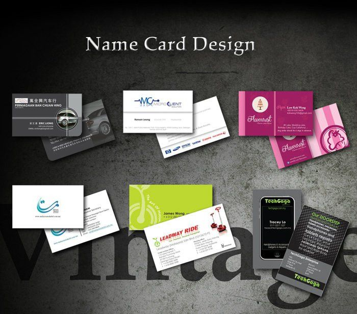 Name Card Design Graphic Design Sample Design Petaling Jaya, PJ ...