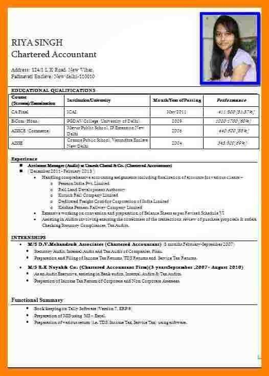 8+ biodata format for teacher job | resume language