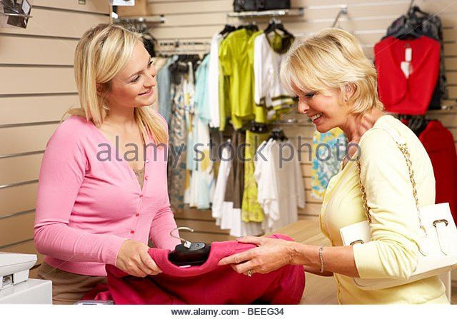 Salesperson And Customer Stock Photos & Salesperson And Customer ...