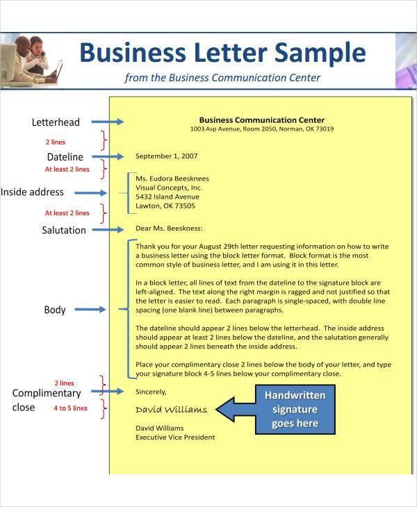 7+ Business Letterhead Format | Free & Premium Templates