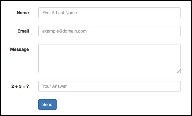 How to Create a Working Bootstrap Contact Form with PHP - BootstrapBay