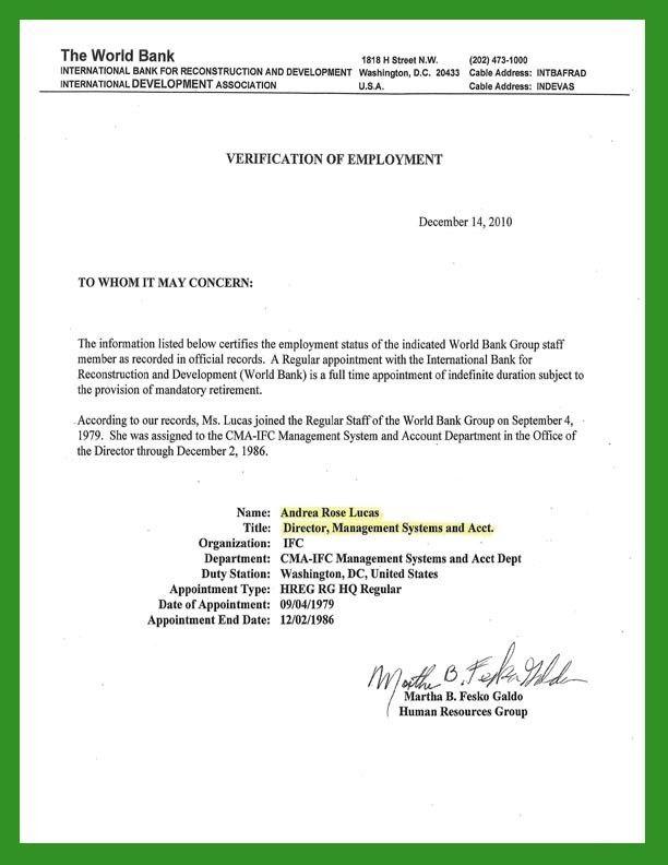Employment Verification Form. Employment Verification Letter ...