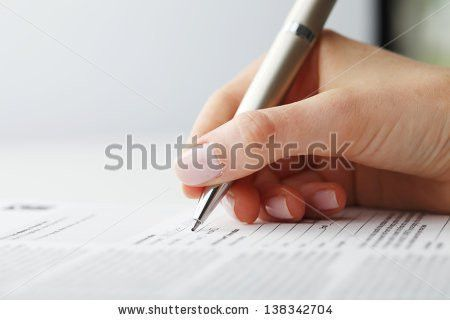 Model Release Form Stock Images, Royalty-Free Images & Vectors ...