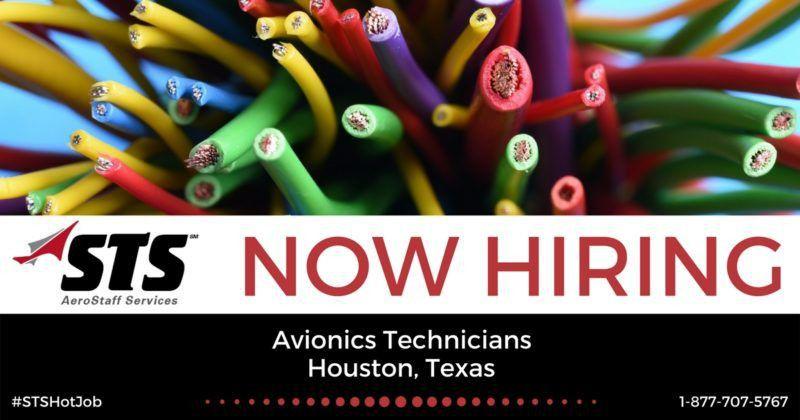 STS Now Offers Avionics Technician Jobs in Houston, Texas