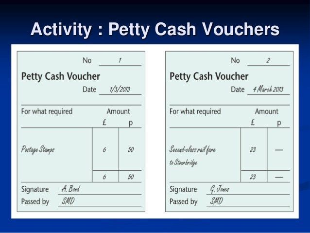 Dbs3024 biz trx week 6 petty cash