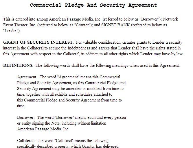 Free Sample Contract For Borrowing Money | Ürün İçeriği