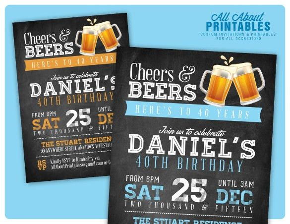 th birthday invitations free psd, vector eps, ai, format, Birthday ...