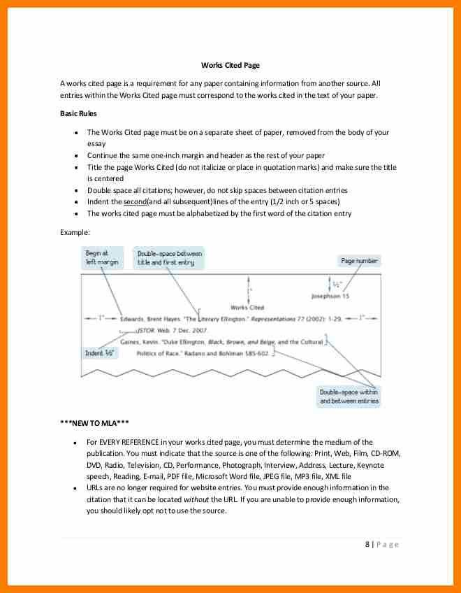 8+ mla 8 citation page example | science-resume