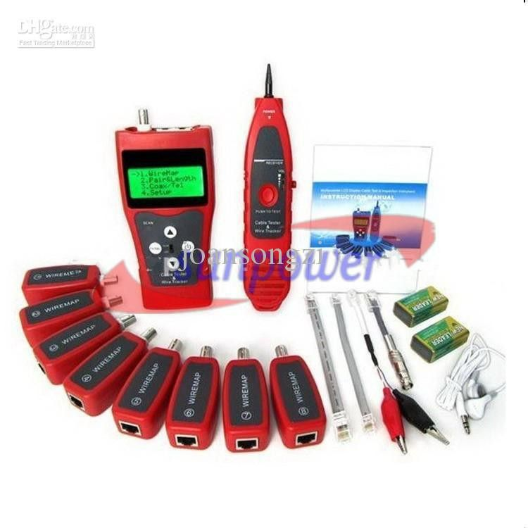 Network Digital Lcd Lan Cable Tester, Testing Network, Coaxial ...