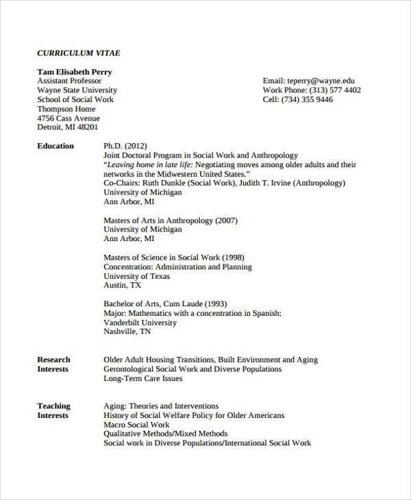 Social Worker Resumes. Social Work Intern Resume Samples Visualcv ...
