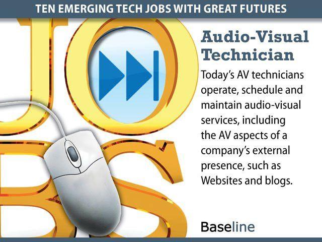 Ten Emerging Tech Jobs With Great Futures
