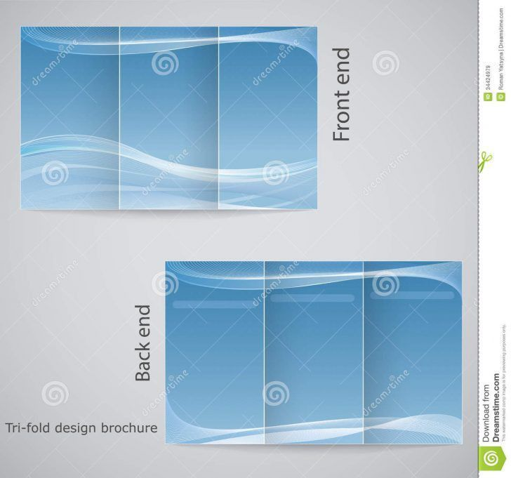 Awesome 3 Fold Brochure Template Free Download | pikpaknews