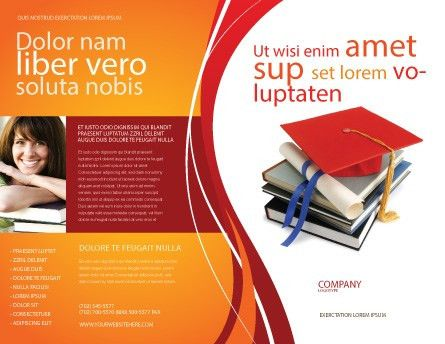 Higher Education Brochure Template Design and Layout, Download Now ...