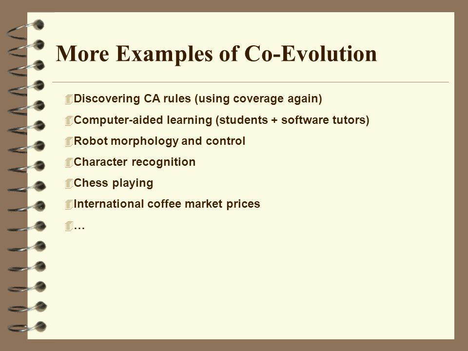 Lecture 2. Co-Evolution (II) - ppt video online download