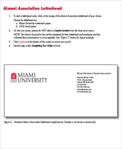 Sample Business Letterhead- 6+ Examples in Word, PDF