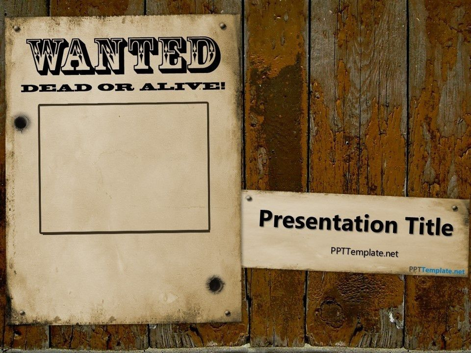 Wanted Poster Template Ks2 - Ecordura.com