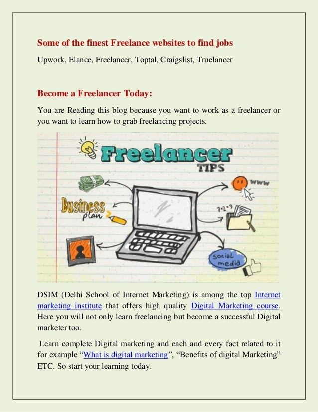 How to grab freelancing projects