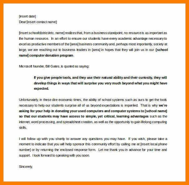 6+ sponsorship letter template | science-resume