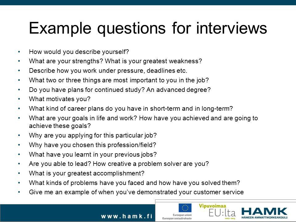 Boost your job seeking skills: prepare for interview - ppt video ...