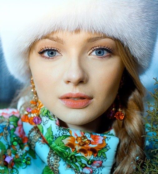 1000+ Images About Russian Dresses On Pinterest | Russian Style Russian Girls And Russian Beauty