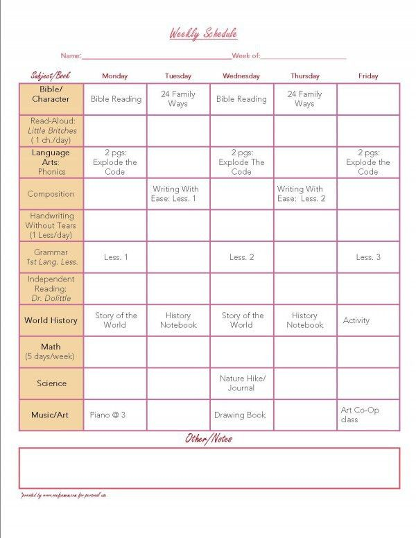 FREE Organization Printables | Weekly planner, Laundry schedule ...