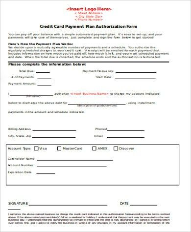7+ Payment Agreement Form Sample - Free Samples, Examples, Format ...