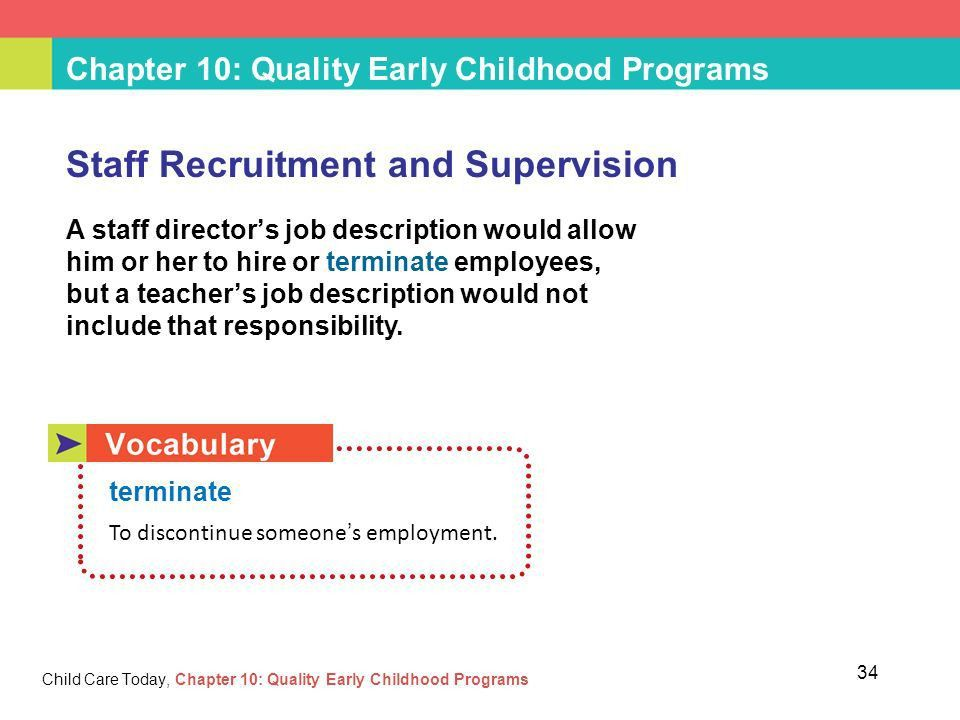 Chapter 10: Quality Early Childhood Programs - ppt video online ...