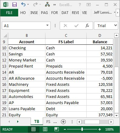 Create a Balance Sheet with Excel | Excel University