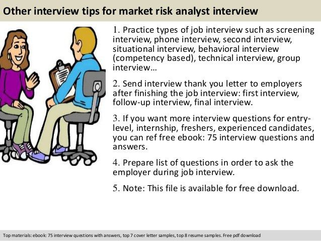 Market risk analyst interview questions