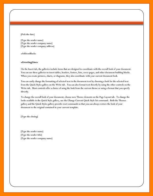 Block Business Letter Template Word - Mediafoxstudio.com