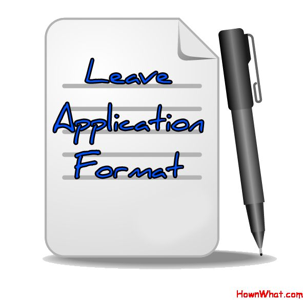How to Write Leave Application Letter