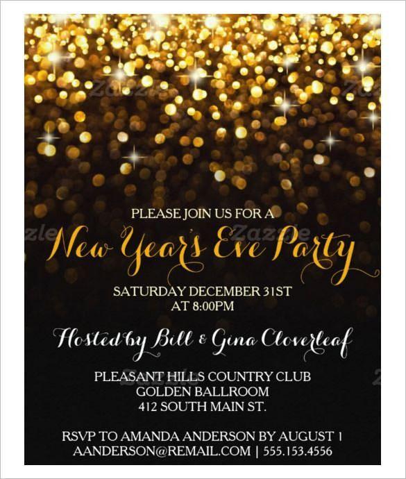 New Year Party Invitation – gangcraft.net