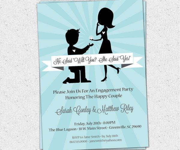 Groovy How To Word Engagement Party Invitations How To Word ...