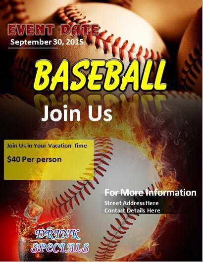 Baseball Flyer Template] Best Baseball Sports Flyer Templates No1 ...