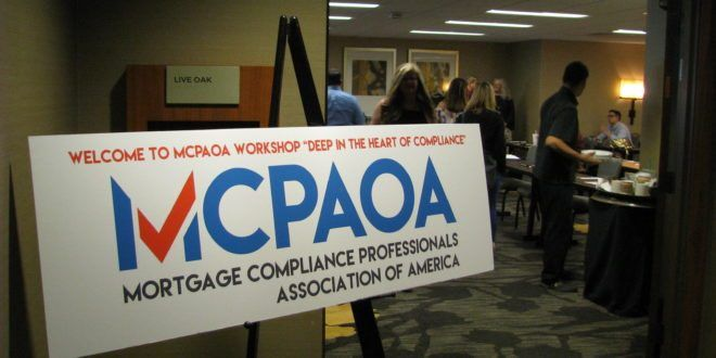 Deep in the Heart of Compliance - MCPAOA Workshop - Mortgage ...