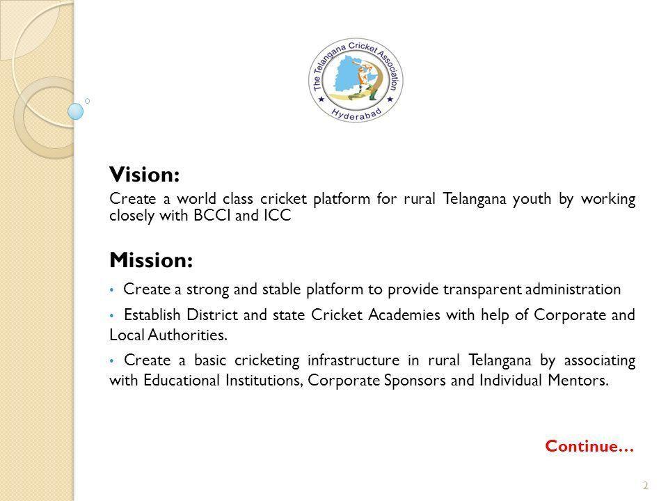 Telangana State Gold Cup Sponsorship proposal package ppt download