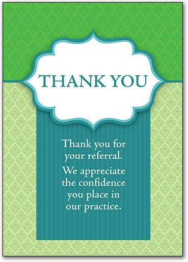 Eye Care Thank You Cards | SmartPractice Eye Care