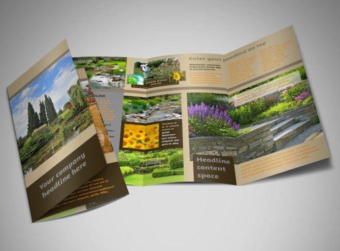 Landscape Design Brochure Template | MyCreativeShop