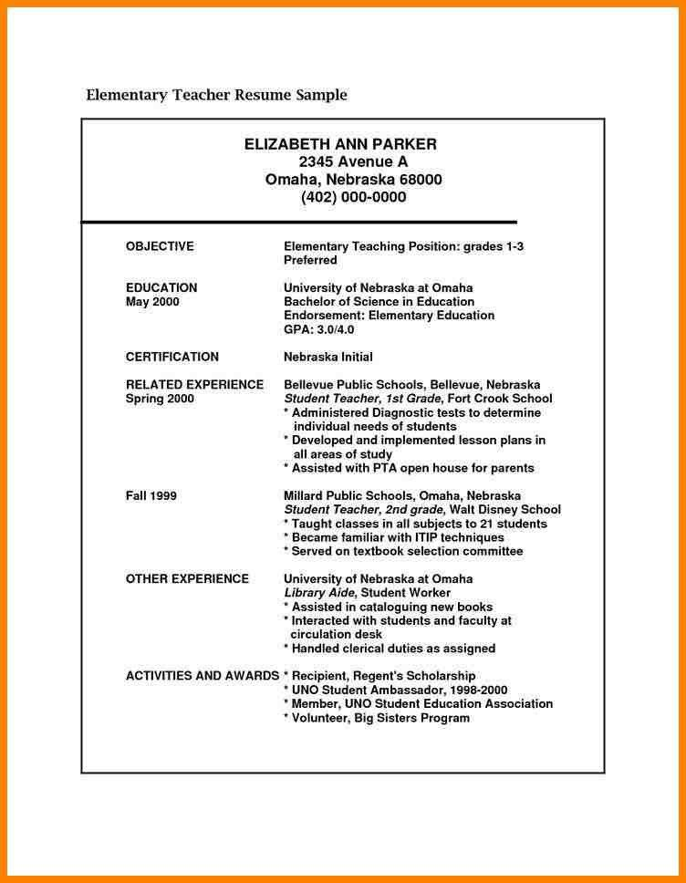 7+ teaching objective | latest cv format