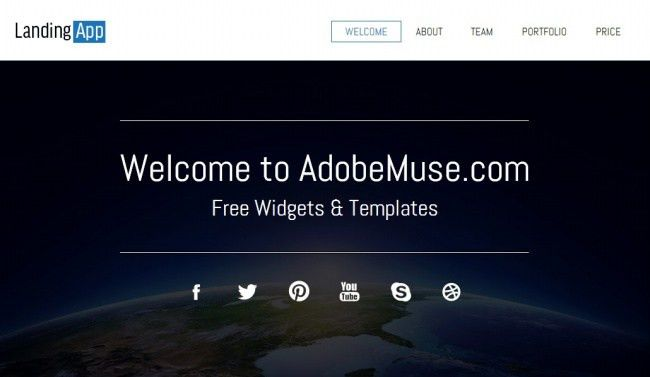 35+Awesome Free And Premium Adobe Muse Templates | Resorces ...