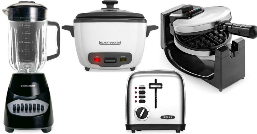 Macy's: $9.99 Small Kitchen Appliances (After Mail in Rebate) + ...