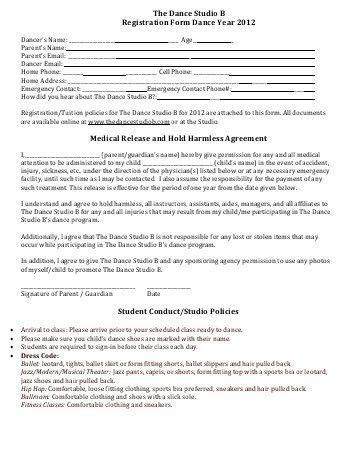 Sample Hold Harmless Agreement. 2015 Adult Dodgeball Tournament ...